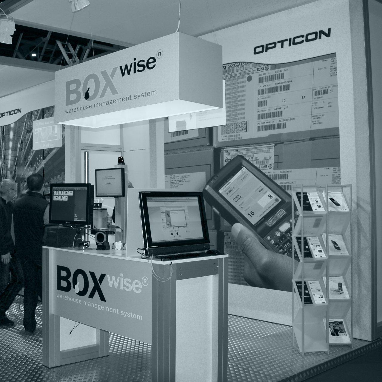 Boxwise op de jaarbeurs 2009