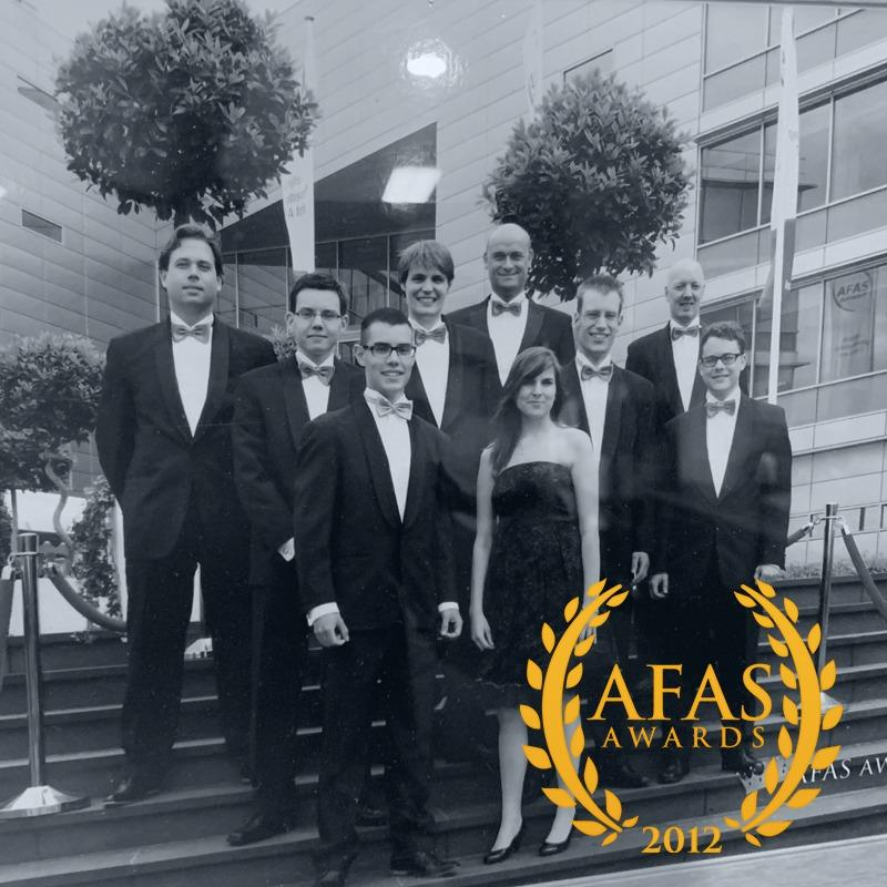 Trancon - AFAS partner van het jaar 2012